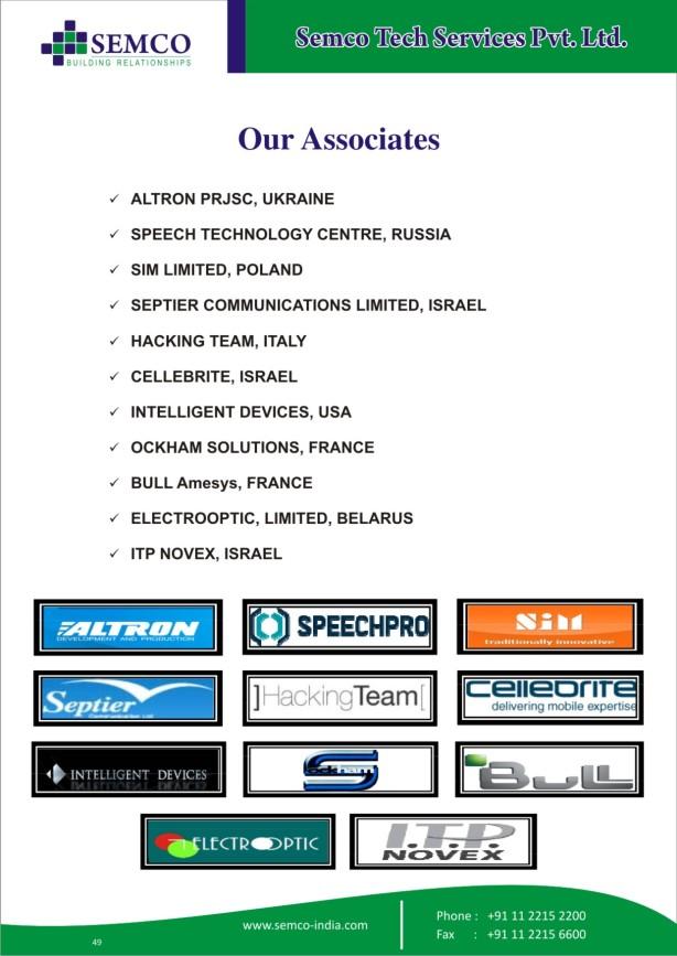 Semco Tech Services Pvt Ltd - Our Associates